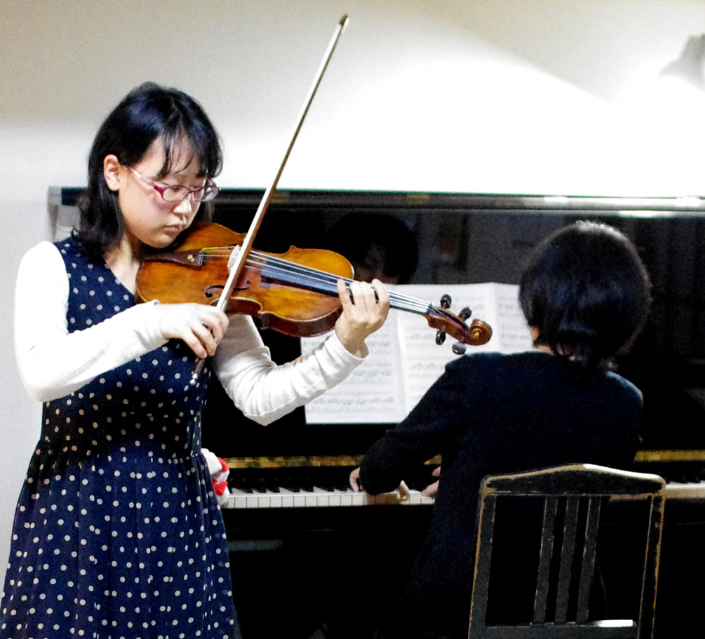『桑原千洋バイオリンプチコンサート』やります!